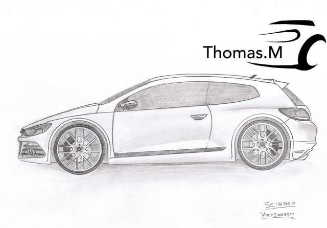 Dessins thomas m page 5 divers loisirs forum - Dessin voiture profil ...