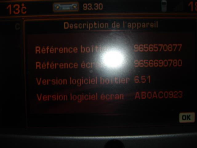 mise a jour gps 407 rt3 questions techniques peugeot 407 forum forum peugeot. Black Bedroom Furniture Sets. Home Design Ideas