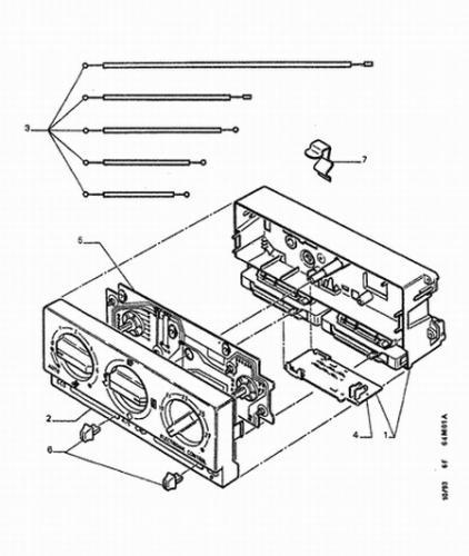 probleme de ventilation sur phase 1 60x v hicules de collection forum forum peugeot. Black Bedroom Furniture Sets. Home Design Ideas