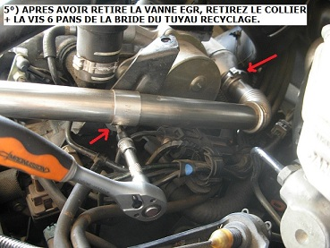 tuto suppression de la vanne egr sur moteur 2 2 hdi 136 cv forum peugeot. Black Bedroom Furniture Sets. Home Design Ideas