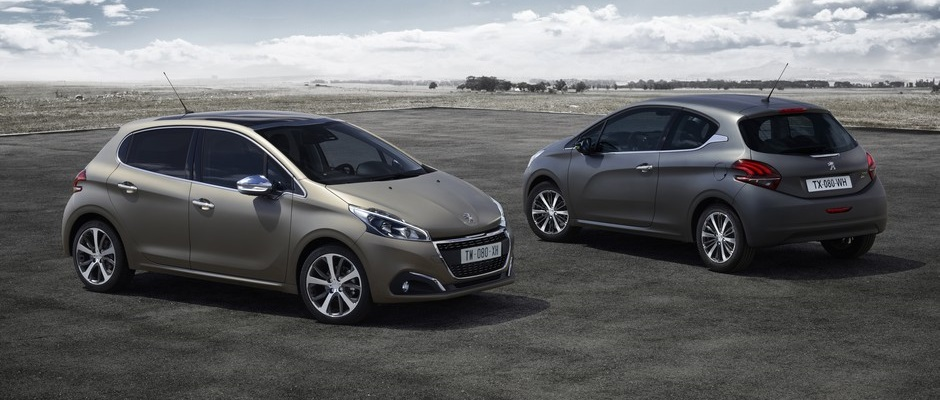 Photo officielle de la Peugeot 208 (2015 > ...)