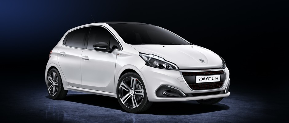 Photo officielle de la Peugeot 208 GT-Line (Studio)