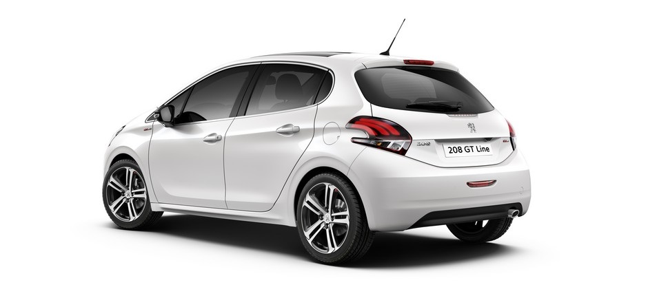 Photo officielle de la Peugeot 208 GT-Line