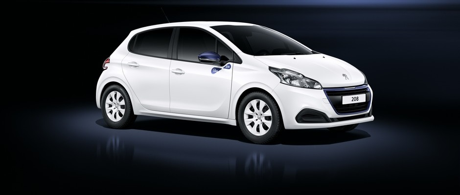 Photo officielle de la Peugeot 208 Like (Studio)