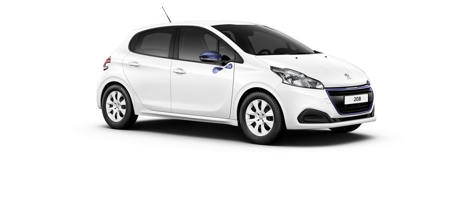Photo officielle de la Peugeot 208 Like