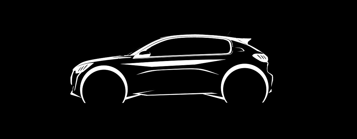 Sketch officiel de la Peugeot 208 (2019 > ...)