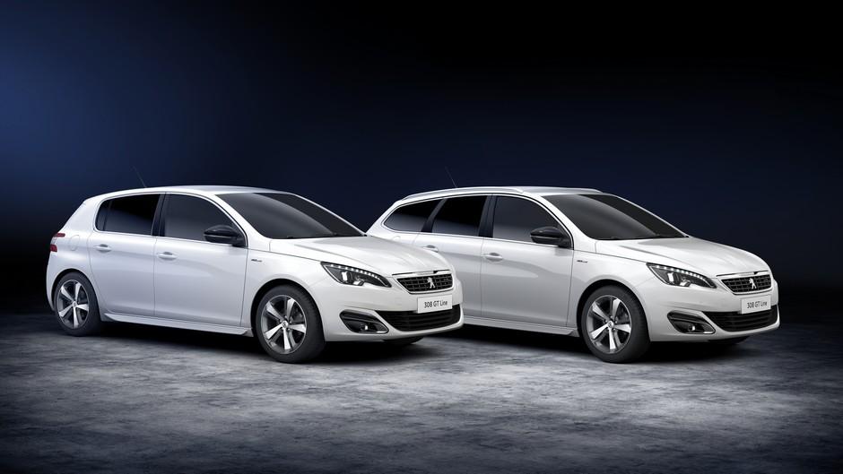 La gamme Peugeot 308 GT-Line