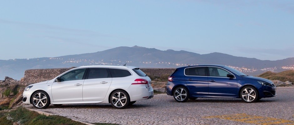 Photo officielle de la gamme Peugeot 308 GT