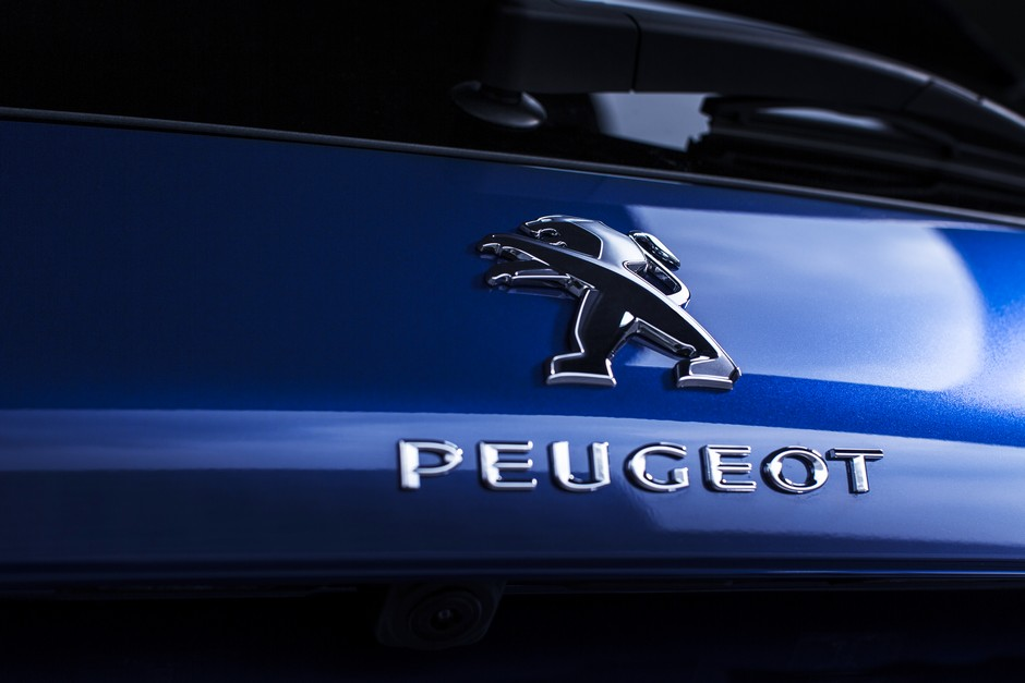 Photo officielle du monogramme Peugeot