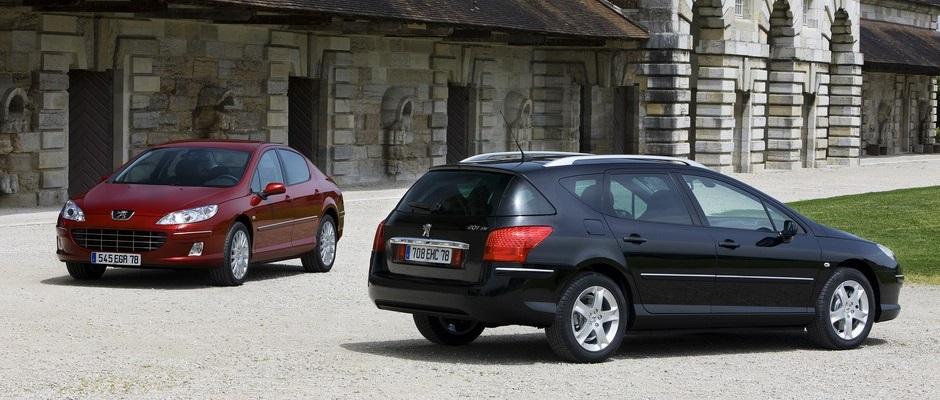 Photo officielle de la gamme Peugeot 407 (2008 > 2011)