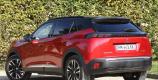 Peugeot e-2008 rouge Elixir vue arrière