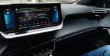 Peugeot e-2008 personnalisation éclairage d'ambiance blue