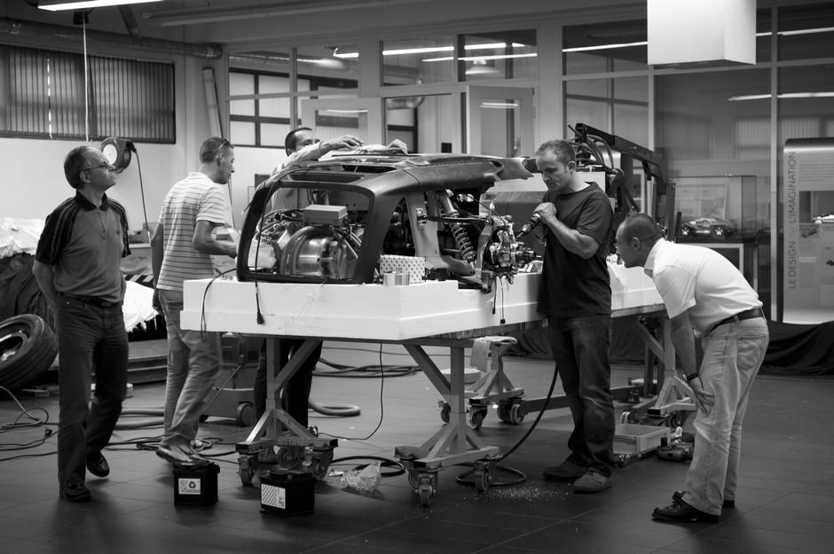 Making-of fabrication