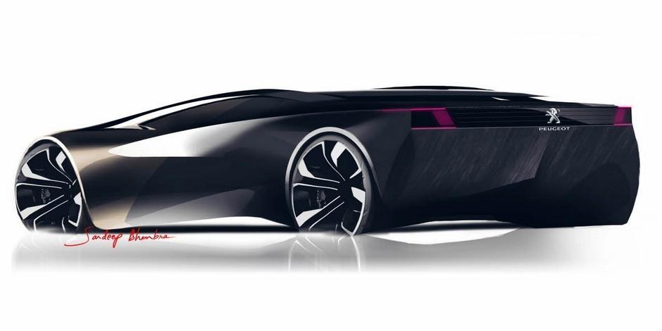 Sketch officiel du Peugeot Onyx (2012)