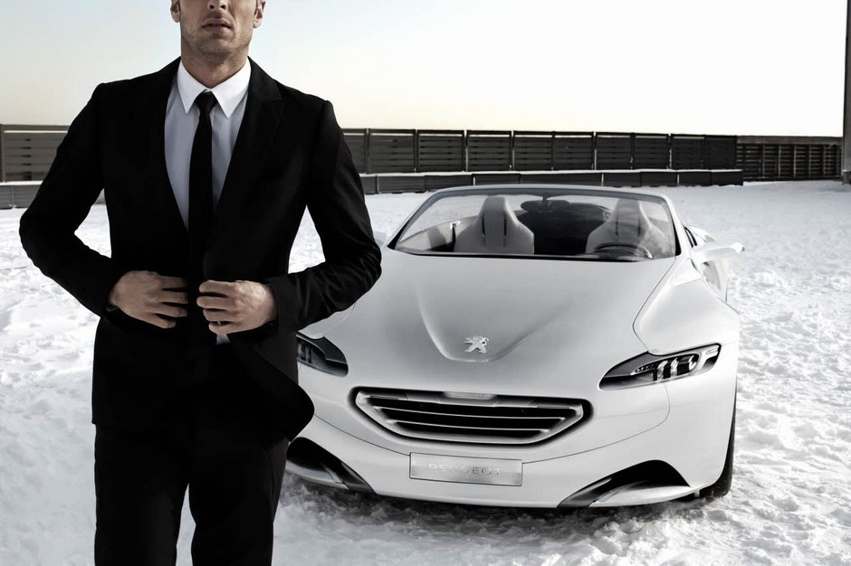 Photo officielle de la Peugeot SR1 (2010)