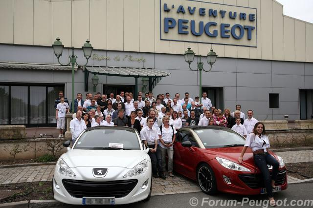 rassemblement peugeot rcz 2011 sochaux forum. Black Bedroom Furniture Sets. Home Design Ideas