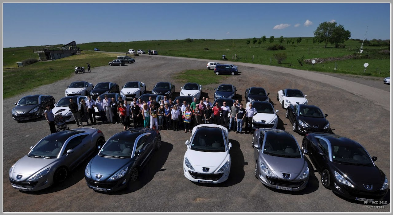 Rassemblement Peugeot RCZ