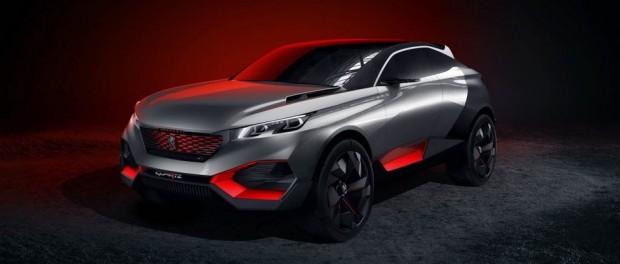 Le concept-car Peugeot Quartz