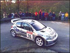 206 WRC à San Remo