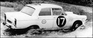 Peugeot 404 en rallye raid