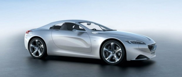 Le concept-car Peugeot SR1