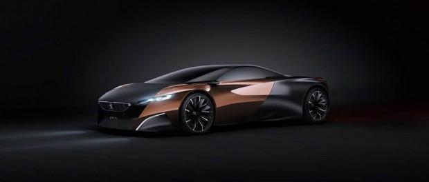 Le concept-car Peugeot Onyx