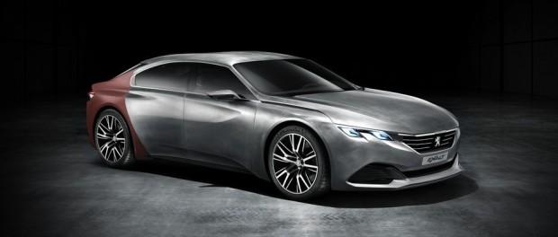 Le concept-car Peugeot Exalt