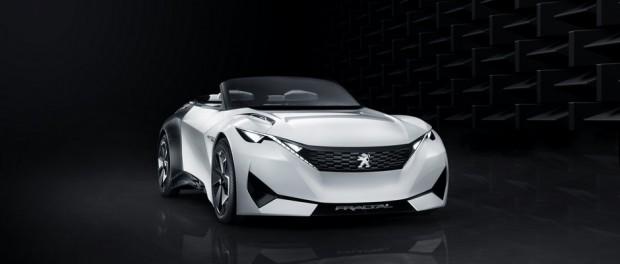 Le concept-car Peugeot Fractal