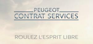 peugeot contrat services