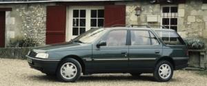 La Peugeot 405 Break Roland Garros