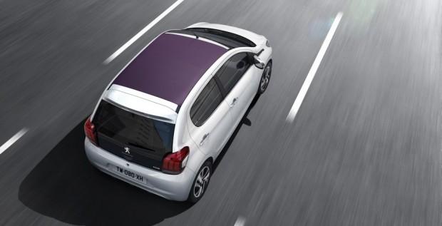 Peugeot 108 Top! Allure Blanc Lipizan
