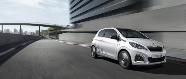 L'univers Sport de la Peugeot 108 disponible en accessoires