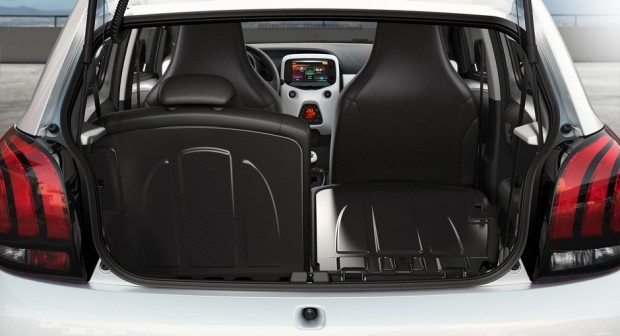 La Peugeot 108 en aspects pratiques