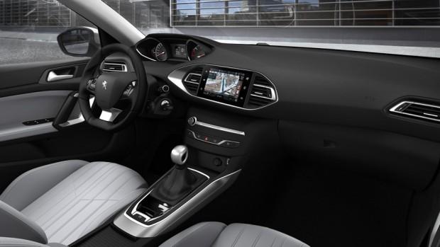 Le poste de conduite de la nouvelle Peugeot 308