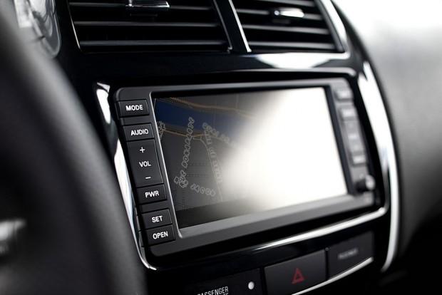 L'écran tactile du Peugeot 4008
