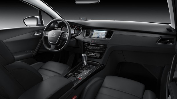 L'habitacle de la Peugeot 508