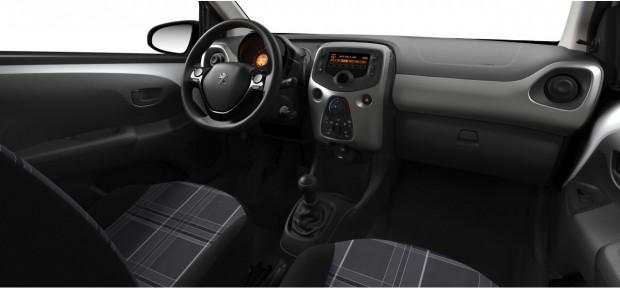 Peugeot 108 Active, Style et Allure : Chaîne & Trame Carolight Blanc
