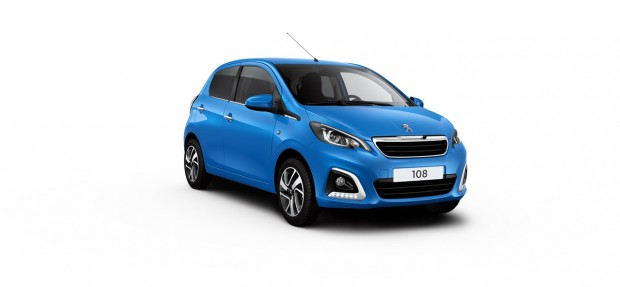 Peugeot 108 Allure French Blue