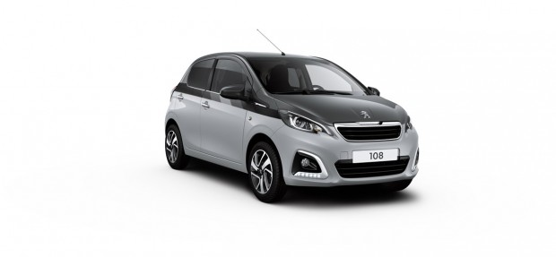 Peugeot 108 Allure Dual Gris Gallium - Gris Carlinite