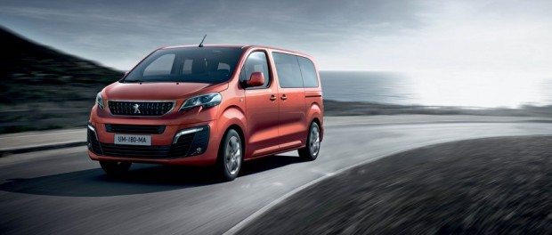 Peugeot Traveller Allure Orange Tourmaline