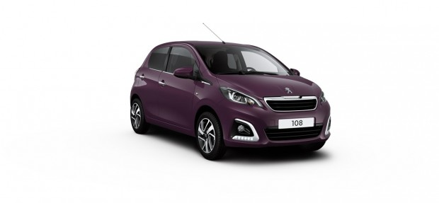 Peugeot 108 Allure Red Purple