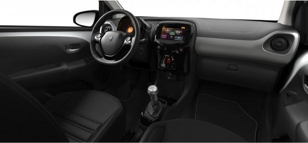 Peugeot 108 : Pack Cuir Claudia Noir Mistral
