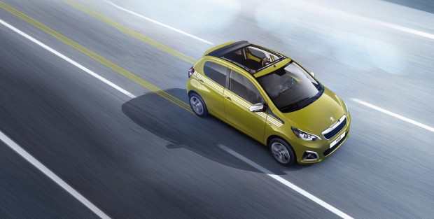 Peugeot 108 Top! Collection Green Fizz