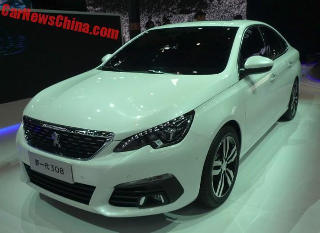 Les Peugeot 308 Sedan Et 3008 Au Salon De P 233 Kin Forum