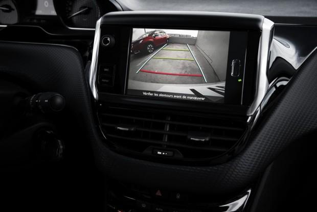 La caméra de recul du Peugeot 2008