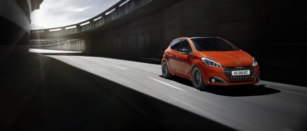 Peugeot 208 Allure Orange Power