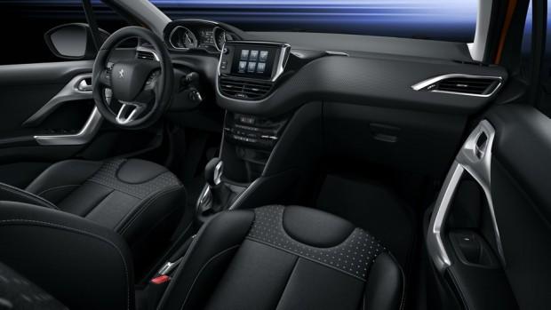 L'habitacle de la Peugeot 208