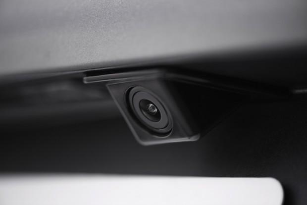 La caméra de recul de la Peugeot 208