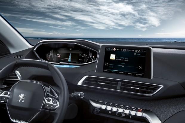 Le Peugeot i-Cockpit transcende l'habitacle