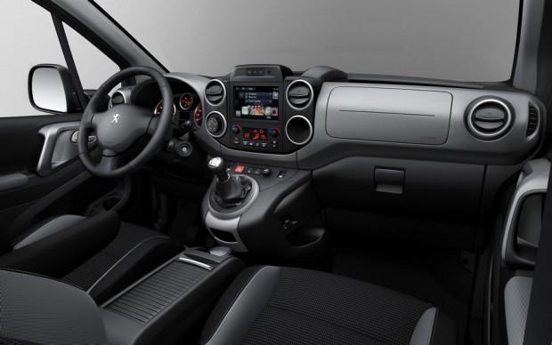 L'intérieur du Peugeot Partner Tepee